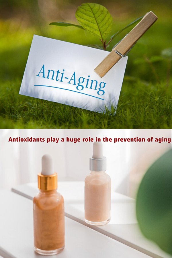 Antioxidants Play A Huge Role In The Prevention Of Aging And Our Overall Health.