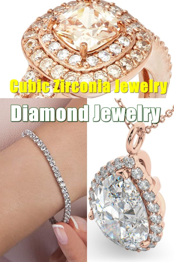Cubic Zirconia Jewelry, Diamond Jewelry, Gold Jewelry, Silver Jewelry … Agate, Turquoise, Pearls … The List Plainly Goes On And On.