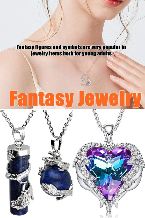 Fantasy Figures And Symbols Are Very Popular In Jewelry Items Both For Young Adults As Well For Those That Are, Shall We Say, More Mature.