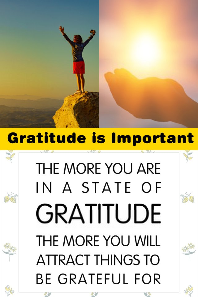 When You Look At Life In A Grateful Manner, Your Perspective On A Lot Of Things Begins To Change.