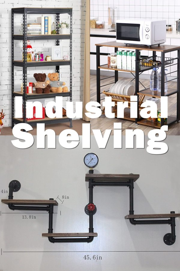 You Might Need Industrial Shelving For Your Stockroom, In Which Case, You're Looking For Some Heavy-duty Shelves. You'll Probably Want Some Basic Galvanized Metal Shelves.