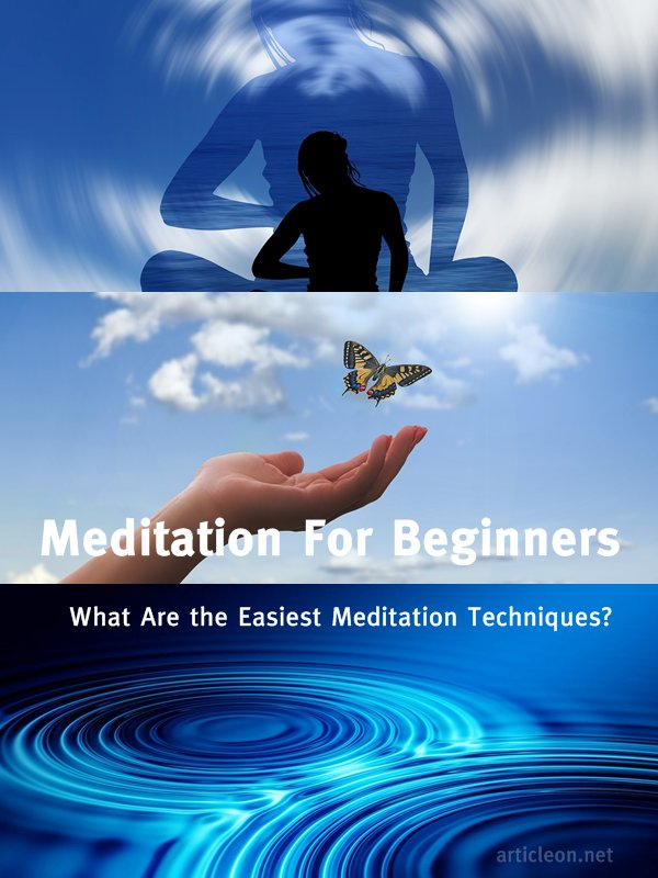 Meditation For Beginners - What's The Easiest Meditation Technique For A Beginner In Meditation - Is The Question That A Lot Of People Are Asking Nowadays.