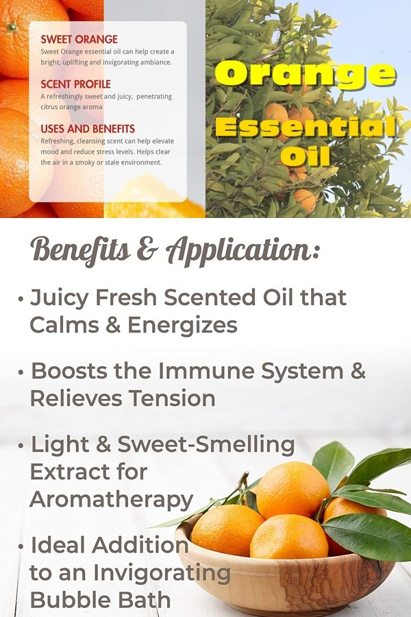 Orange Essential Oil Is Collected By A Cold Press Method From The Peel Of The Orange And Is Relatively Inexpensive Due To The Fruits Abundance.