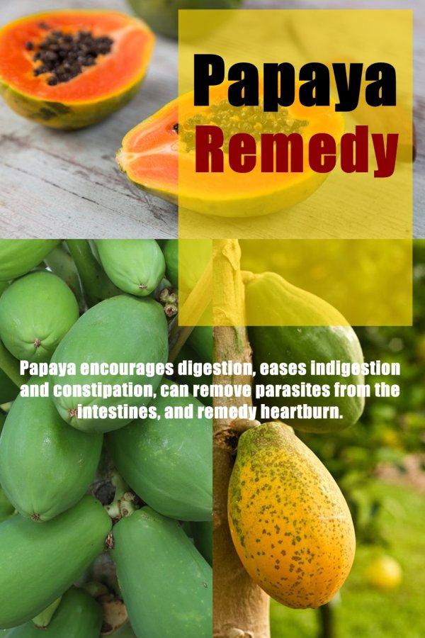 Can Papaya Remedy Heartburn?
