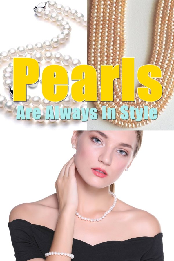 Modern Pearls Come In A Variety Of Different Types Of Necklaces, Bracelets, Rings, Earrings And Yes, Even In Brooches, Hair Ornaments And As Scarf Pins.