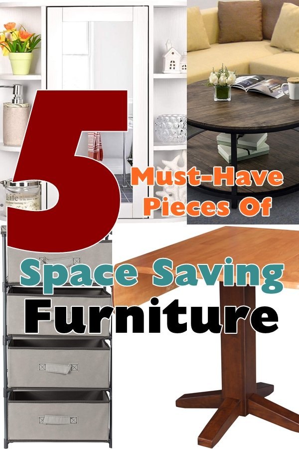 If You Living In A Small Home, Apartment Or Dorm Then That Means Your Space Is Limited And My Guess Is You're Probably Looking For New Ways To Save Space Whenever You Can.